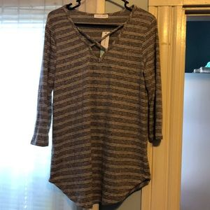 NWT Emory Park Ridiculously Soft Long Slve Tee Lg